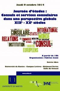 Journée d'études «Consuls et services consulaires dans une perspective globale, XIXe-XXe siècles»