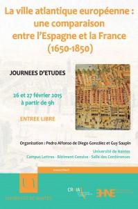 La ville atlantique européenne : une comparaison entre l'Espagne et la France (1650-1850)