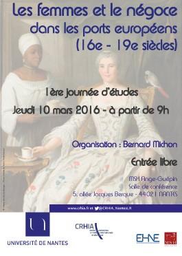 Les femmes et le négoce dans les ports européens, 16e – 19e siècles (1)