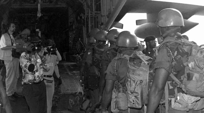 L'Europe et l'Afrique post-coloniale : conflits armés et enjeux sécuritaires