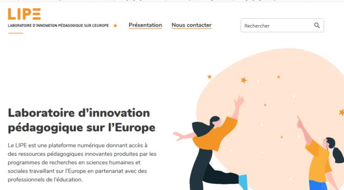 Le site du Laboratoire d'innovation pédagogique sur l'Europe fait peau neuve!